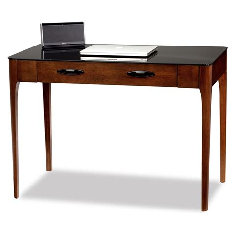 desk pull out drawer obsidian 42 w x 30 h writing desk with pull out keyboard
