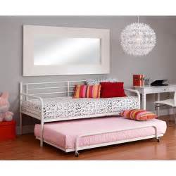 White Metal Daybed With Trundle Daybeds With Trundle Decoration News