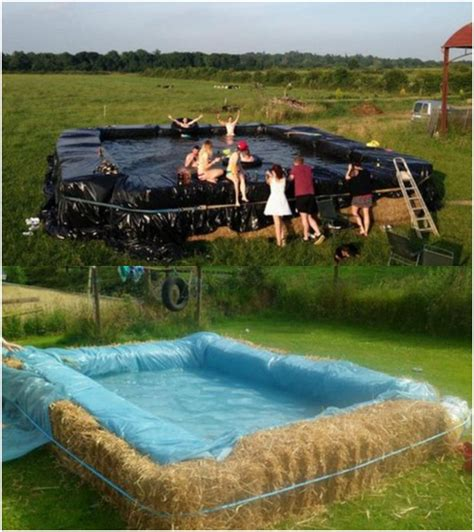 Build Your House Online build a swimming pool with straw bales
