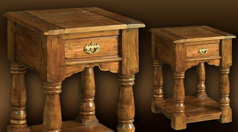 table de nuit rustique table de nuit rustique en acacia massif
