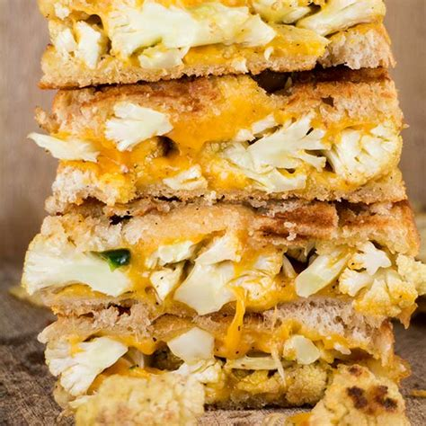 cauliflower grilled cheese cauliflower jalapeno grilled cheese sandwich brooklyn