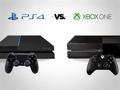 ps4 console vs xbox one ps4 vs xbox one which console is the better deal