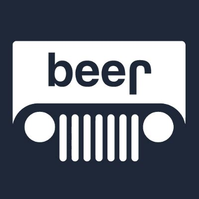 jeep beer sticker jeep beer t shirt