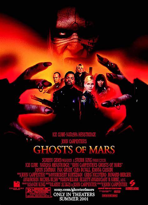 film ghost of mars ghosts of mars sci fi b movie posters