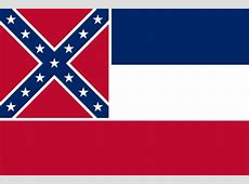 Die Flagge von Mississippi - Flag of Mississippi Flaggen Der Welt