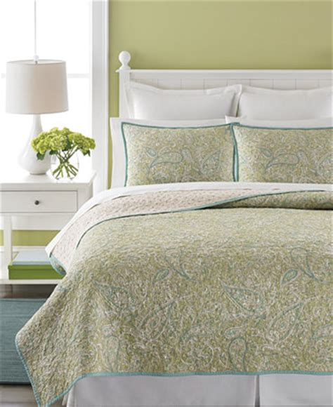 martha stewart quilts and coverlets martha stewart collection painted paisley quilts quilts