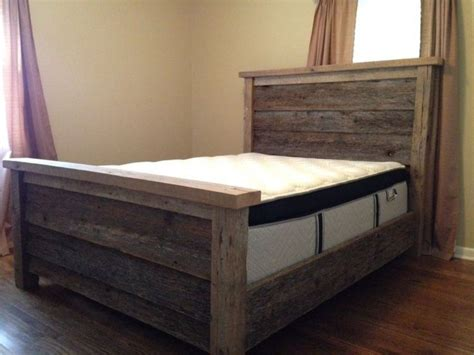 How To Make A Headboard And Footboard by Affordable Bed Frame With Headboard And