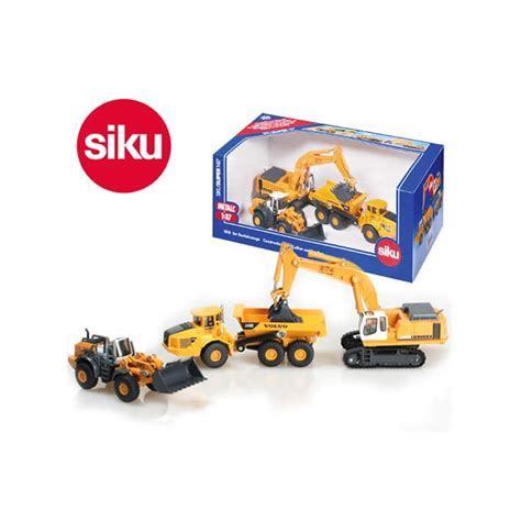 Siku Gift Set C siku 1 87 scale die cast 3 construction set