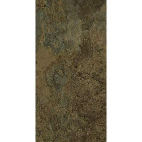 trafficmaster allure 12 in x 24 in harrison slate vinyl tile flooring 24 sq ft case