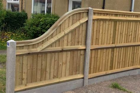 Shaped Fence Panels Concrete Post Fencing Suppliers In Kent