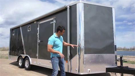 8 5 x 25 all season enclosed cargo carhauler trailer
