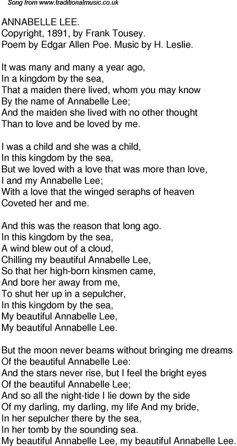 annabel lee by edgar allan poe 1000 images about edgar allan poe on pinterest short