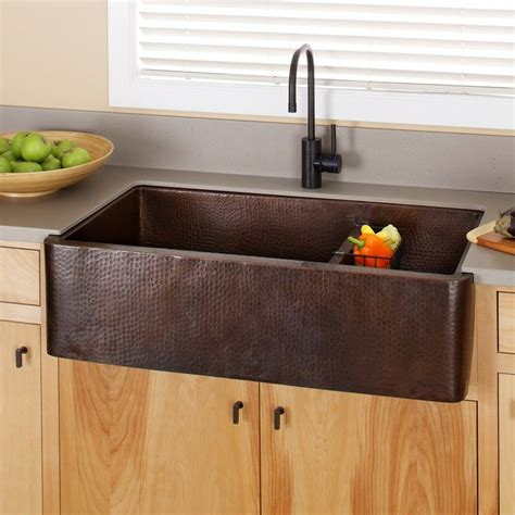 Cheap Copper Kitchen Sinks Copper Farmhouse Kitchen Sink Discount Quicua