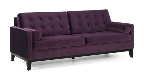 Kitchen Islands And Carts centennial sofa purple velvet fabric lc7253pu