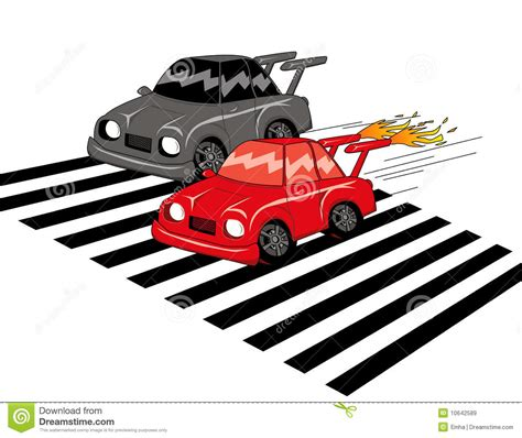 cars u0026 racing cars car race stock illustration image of zebracross cars