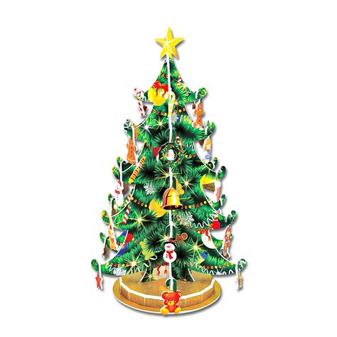 3d bauwerk weihnachtsbaum