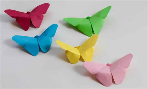 Origami With Construction Paper - an spike origami construction paper crafts step by