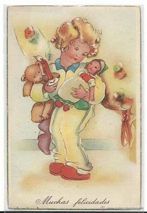 imagenes infantiles antiguas mejores 97 im 225 genes de postales y caricatura en pinterest