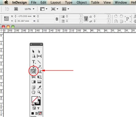 indesign rectangle frame tool quick tip creating quick grids and using live distribute