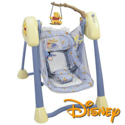 traveling baby swing my baby world travel swing disney pooh simplicity
