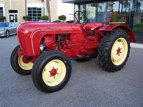 porsche tractors porsche used to build tractors 6speedonline
