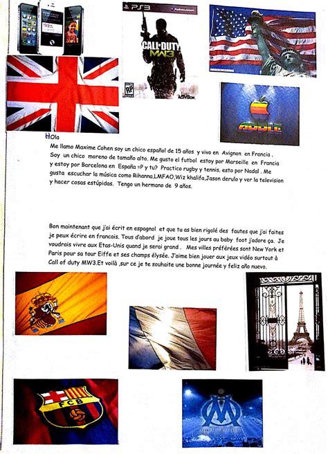 Lettre Présentation Anglais Correspondant Exemple De Lettres Pour Correspondants Et Bar 234 Me De Notation La Casa Profe