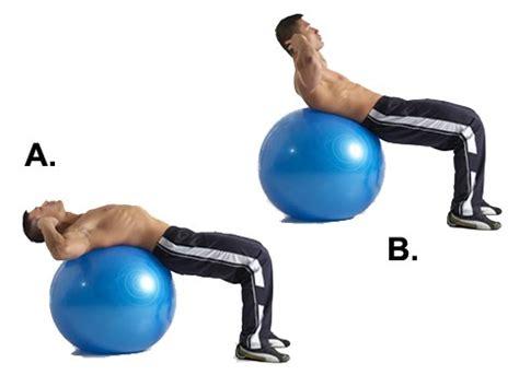 stability ball abdominal crunch gym owl gym owl