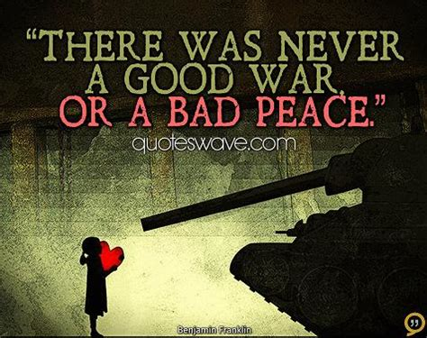 Why Was There Never A Part Ii by There Never Was A War Or A Bad Peace Benjamin