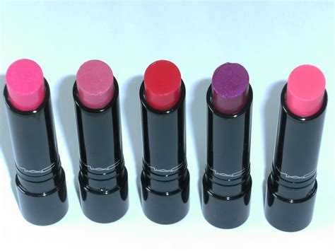 mac sheen supreme lipstick pleasureflush my mac sheen supreme lipstick haul and review