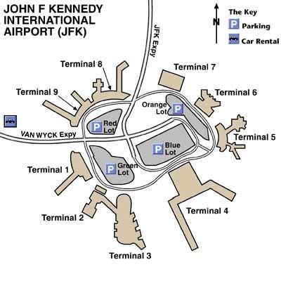 layout jfk airport jfk international airport