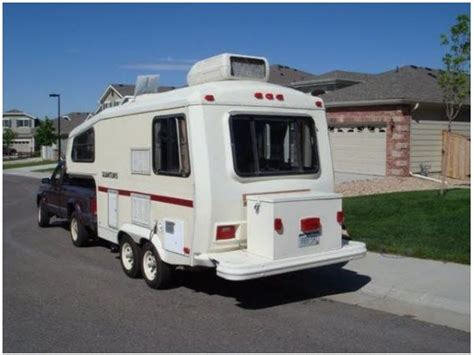 As Seen On Tv Cooktop Meet A 30 Year Old Small Fifth Wheel Camper Who Goes By