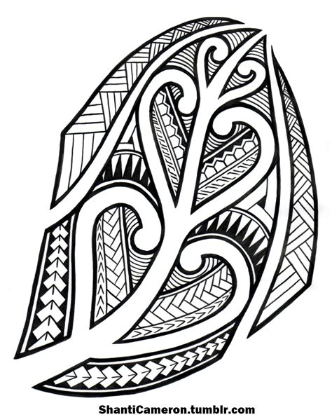 maori inspired tribal tattoo maori inspired tribal by shanticameron on deviantart