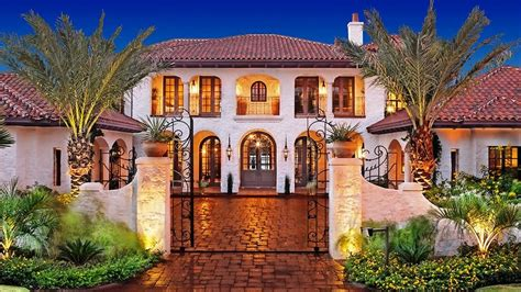 beautiful mediterranean homes america s most beautiful houses mediterranean victorian tudor and traditional style youtube
