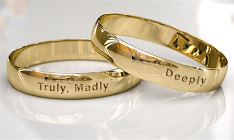 and extremely sweet quotes to engrave on promise rings