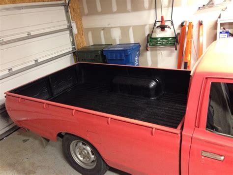 custom coat bed liner reviews safety orange custom coat urethane spray on truck bed vw