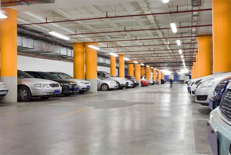 How Do Parking Garages Work by Parking Garage Lighting
