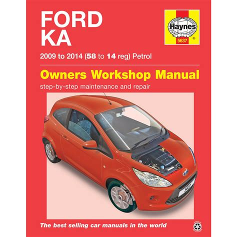 where to buy car manuals 2007 ford e series instrument cluster ford ka 1 2 petrol 2009 to 2014 haynes workshop manual