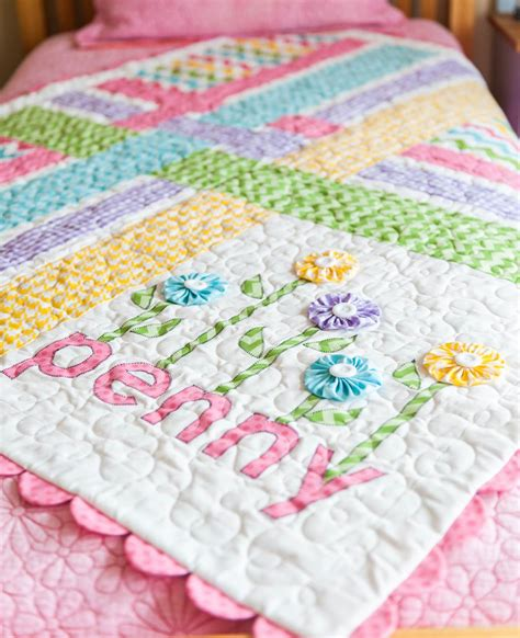 Free Baby Quilt Applique Patterns by Free Pattern Day Baby Quilts Part 2 Quilt