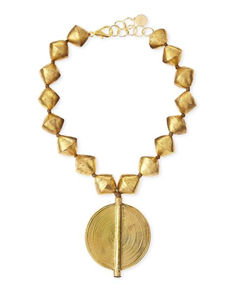 brass for jewelry nest jewelry brass beaded pendant necklace in gold bronze