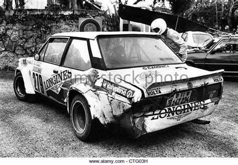 Rally Tour De France Auto 1982 by Fiat 131 Abarth Stock Photos Fiat 131 Abarth Stock