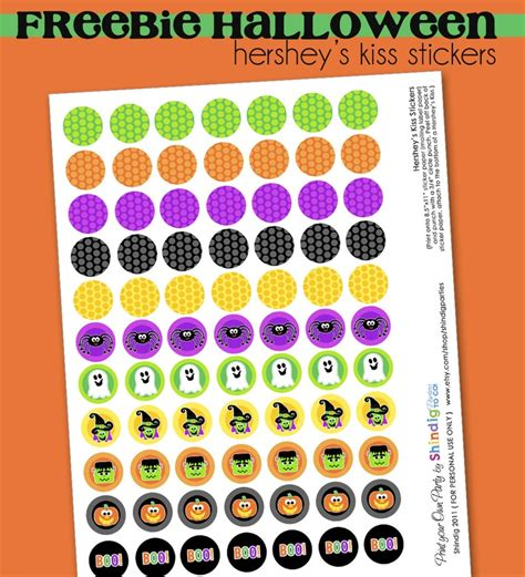 printable stickers for hershey kisses hershey kisses stickers for halloween free printable