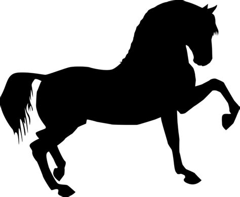 printable stencils of horses printable horse stencils clipart best