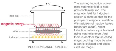 basic principle of induction cooker cook like a fakir yanko design