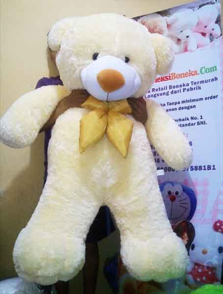 Boneka Teddy Jumbo With I You harga boneka teddy ukuran meter indobeta