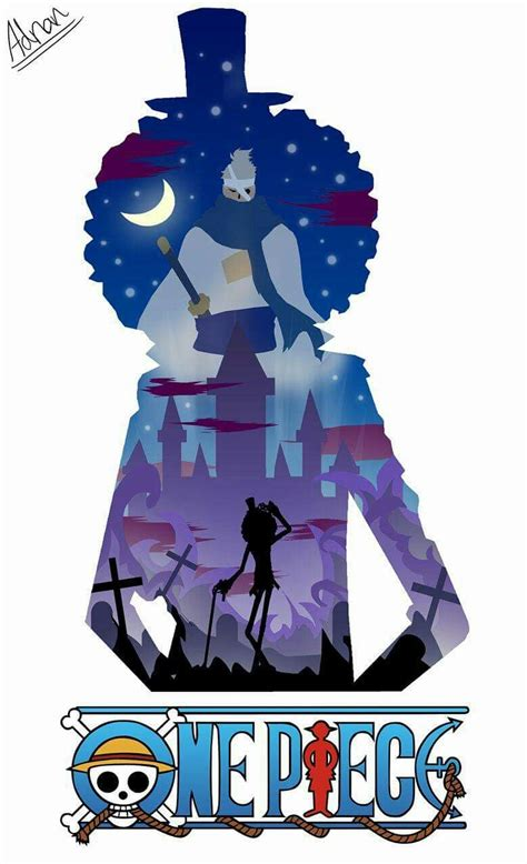 Soul King Brook brook soul king silhouette one anime one