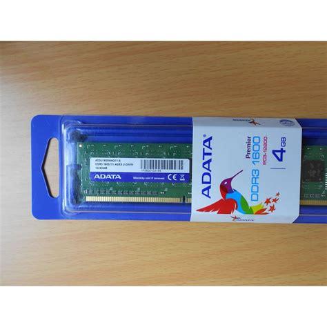 memorie ram ddr3 memoria ram ddr3 adata 4gb 1600mhz nueva en blister sellado
