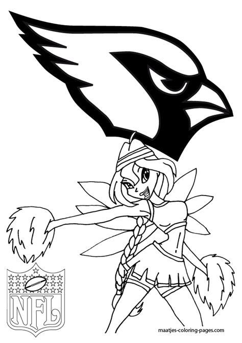 nfl cardinals coloring pages stl cardinals logo coloring pages coloring pages