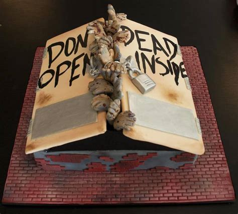 Walking Dead Cake Decorations by Walking Dead Cake Cakecentral