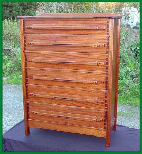 Custom Dresser by Voorhees Craftsman Mission Oak Furniture Custom Greene