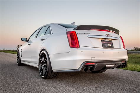 2010 cadillac cts horsepower 2016 2018 cadillac cts v hpe1000 upgrade hennessey